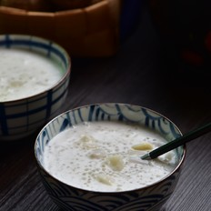 香芋椰浆西米露