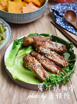 广东改良版蜜汁烤排骨的做法