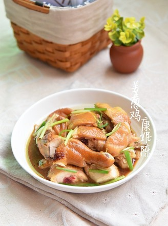 广东姜葱鸡