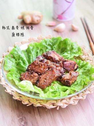 韩式蒜香烤排骨的做法