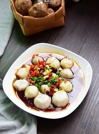 剁椒蒸芋头的做法
