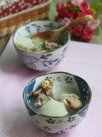 萝卜棒骨汤的做法