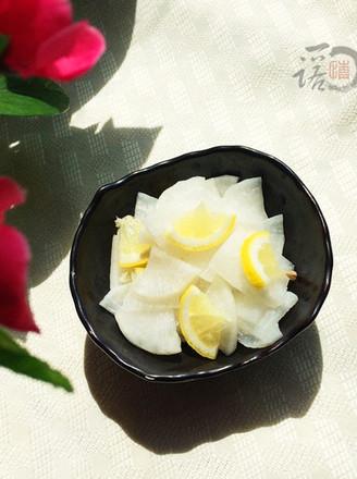 柠檬腌白萝卜的做法
