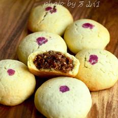 玫瑰馅曲奇酥饼的做法[图]