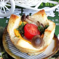 山羊奶酪土司塔的做法[图]