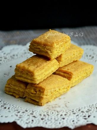 咸蛋黄饼干的做法