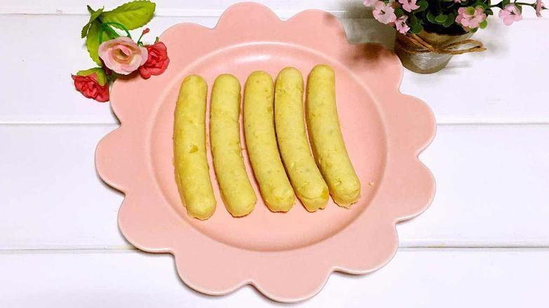 宝宝辅食之鸡肉玉米肠的做法