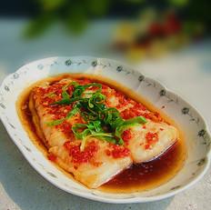 清蒸剁椒龙利鱼