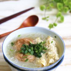 #上海小吃#双档汤