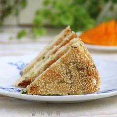 #上海小吃#羌饼