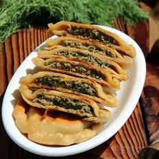 杂粮茴香鲜肉饼#樱花味道#