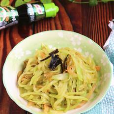 葱油榨菜莴笋丝#鲜香之味 搞定萌娃#