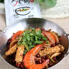 麻辣海鲜香锅