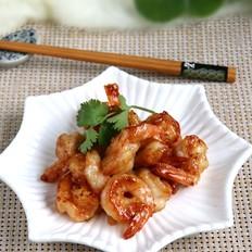 蜜汁脆皮虾#秋季保胃战#