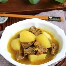 咖喱牛肉土豆汤#秋季保胃战#