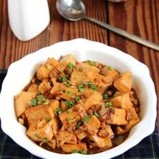 干贝肉末炖豆腐