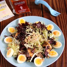 金枪鱼蔬菜沙拉#丘比沙拉汁#