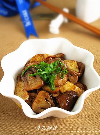 蚝油茭白草菇