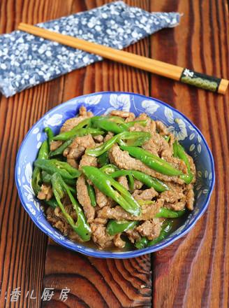 蚝油杭椒牛肉的做法