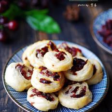 蔓越莓飞饼酥