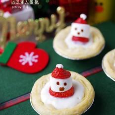 小丑雪人蛋挞