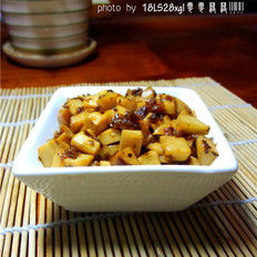 芽菜炒杏鲍菇