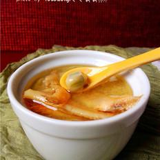 银鱼蚕豆汤