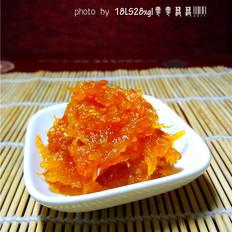 自制橙皮糖