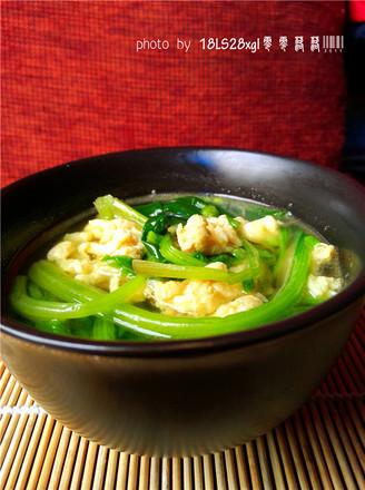 菠菜汤的做法