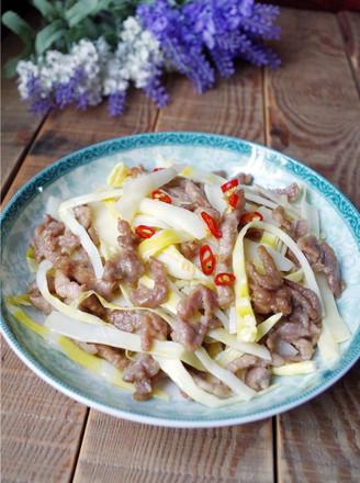竹笋肉丝的做法