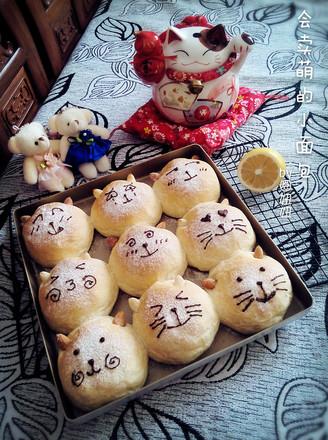 大脸猫小面包