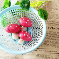 红蘑菇馒头