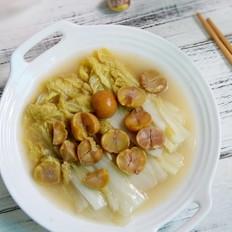 栗子炖白菜