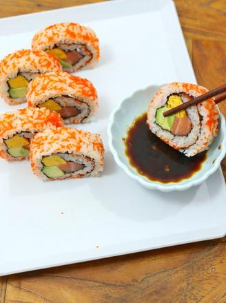 锦绣反卷寿司的做法