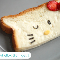 Hello kitty吐司片