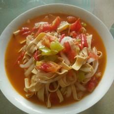 豆腐丝粉条汤