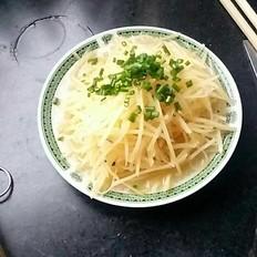 酸味土豆丝