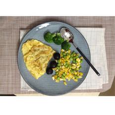 鸡蛋混杂沙拉
