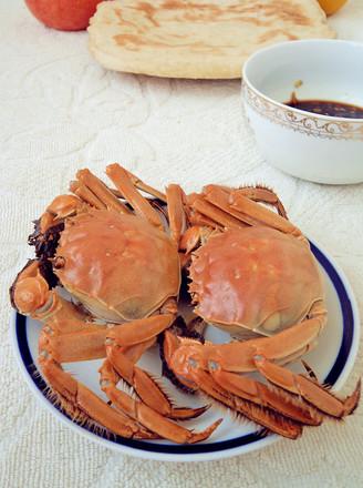 蒸小孩的做法河蟹吃了点鹅肉过敏了图片