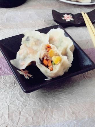 玉米水饺的做法【步骤图】_菜谱_美食杰