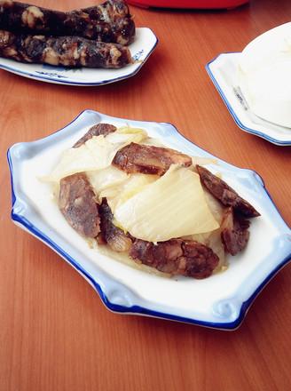 腊味白菜的做法