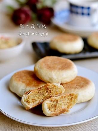 超详细步骤教你做香甜肉松饼!的做法