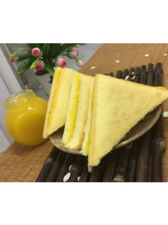果酱三明治蛋糕的做法