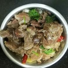 陕北铁锅炖羊肉的做法[图]
