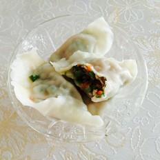 芦笋羊肉饺子