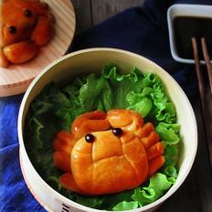 螃蟹趣味广式月饼