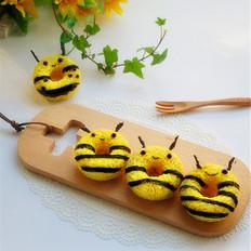 小蜜蜂甜甜圈饭团