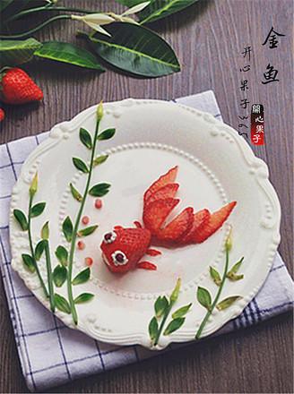金鱼水果盘的做法【步骤图】_菜谱_美食杰