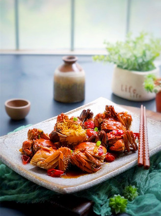 霸王超市丨开胃麻辣口水蟹的做法