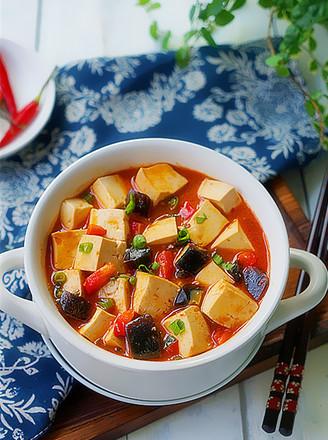 酱焖皮蛋豆腐的做法